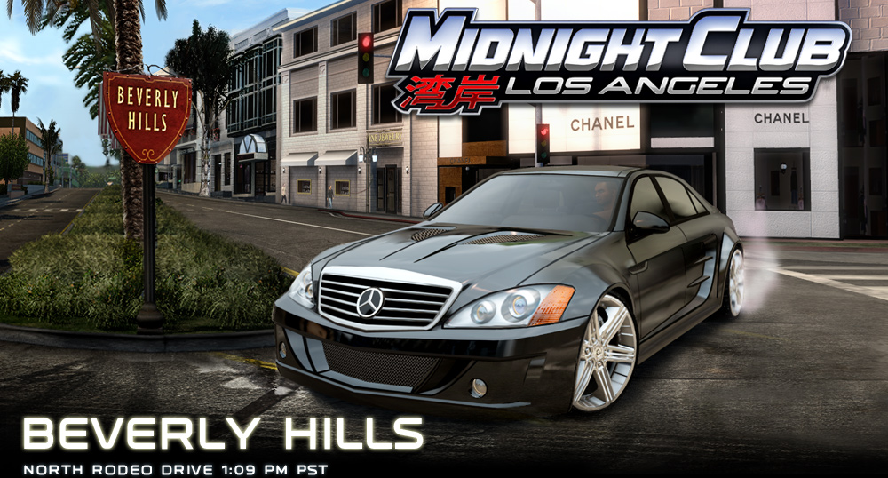 Midnight Club La Beverly Hills Section Online Rockstarwatch